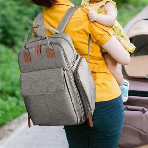 Other - New Diaper Backpack Gray